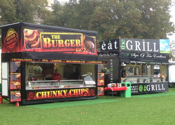 Mobile Burger Van Hire